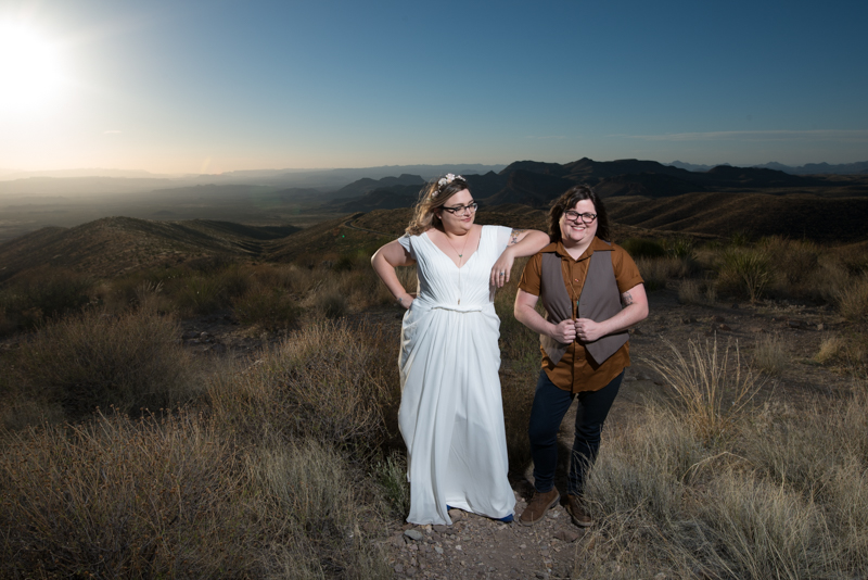 Big Bend Wedding
